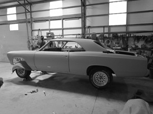 Fitting Body Panels on the 66 Chevelle SS