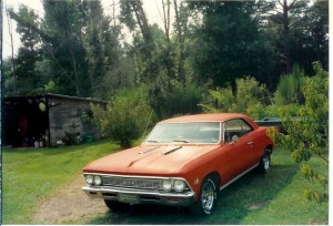 Chevelle Moms Back Yard 5 1987